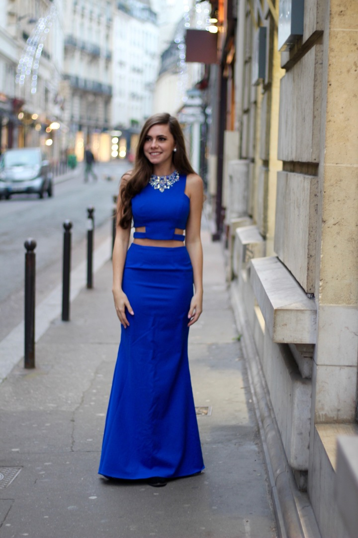 ALYCE PARIS IN PARIS- NYE OUTFIT